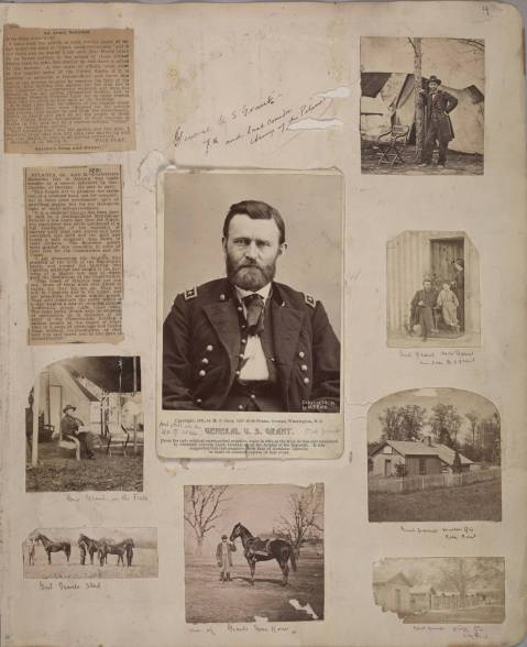 Taylor Scrapbook Two: page 4, James E. Taylor Collection, Huntington Digital Library, UDID# 49361