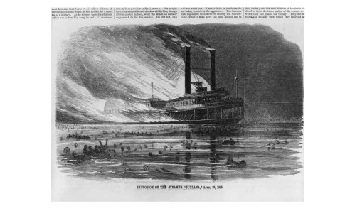 Explostion of the steamer Sultana
