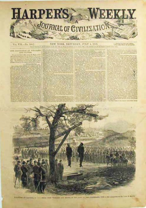 Harpers Weekly July 4 1863